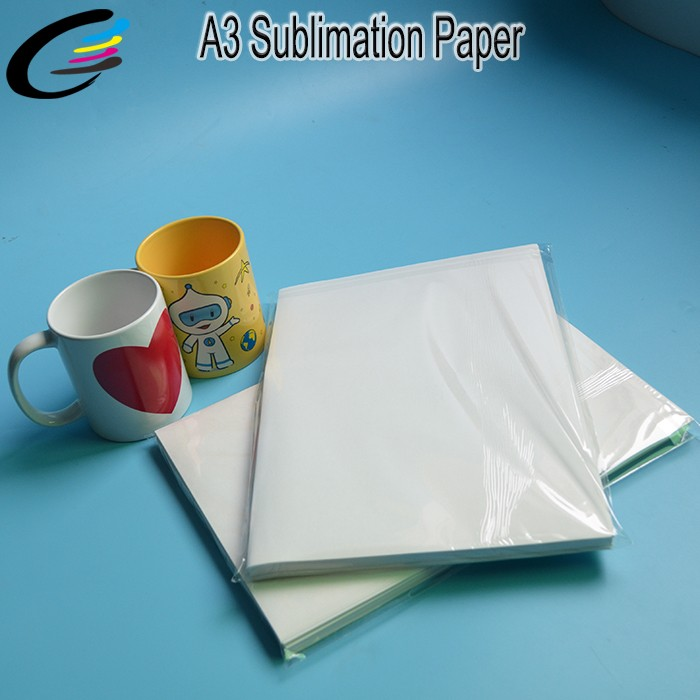 A3 Sublimation Paper for Mug Printing Heat Transfer Paper for Cotton Printing