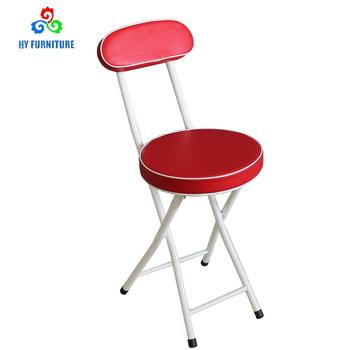 Folding Stools Picking Chairs With Back Support Wholesale Buy Metal Folding Chair Seat Cushions Chinese Restaurant Chairs High Back Folding Chairs