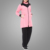 Beautiful pink warm color sportswear islamic clothing muslim elastic tracksuits
