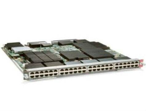CISCO 48-PORT 1 GIGABIT COPPER ETHERNET MODULE WITH DFC4 WS-X6848-TX-2T
