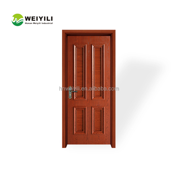 Exterior Position Chinese Security Swing Open Style Wooden Interior