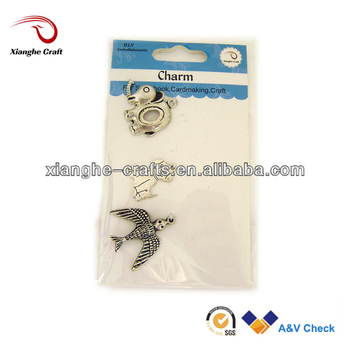 Decor Mini Dog Elephant Bird Shaped Bulk Charms Bracelets Wholesale