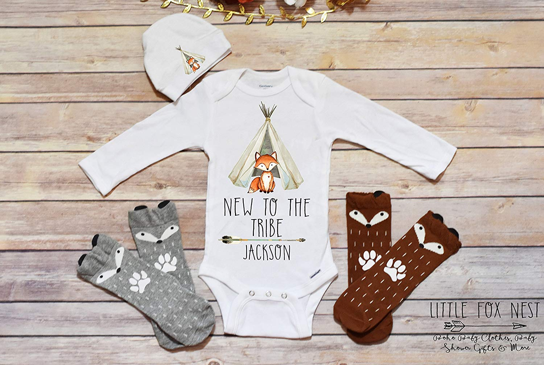 fa3140e81 Get Quotations · Wild One, Wild One Onesie, Baby Boy Clothes, Fox Onesie,  Fox Shirt