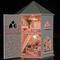 Handmade Doll House Furniture Miniatura Diy Doll Houses Miniature Dollhouse Iron Toys For Children Grownups Birthday