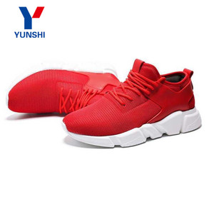 Hot sales fashion running sneaker sports flat men shoes
