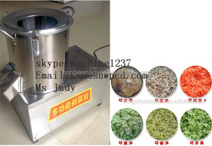 2015 hot sale mini automatic industrial vegetable chopper, green onion pepper carrot cutting machine
