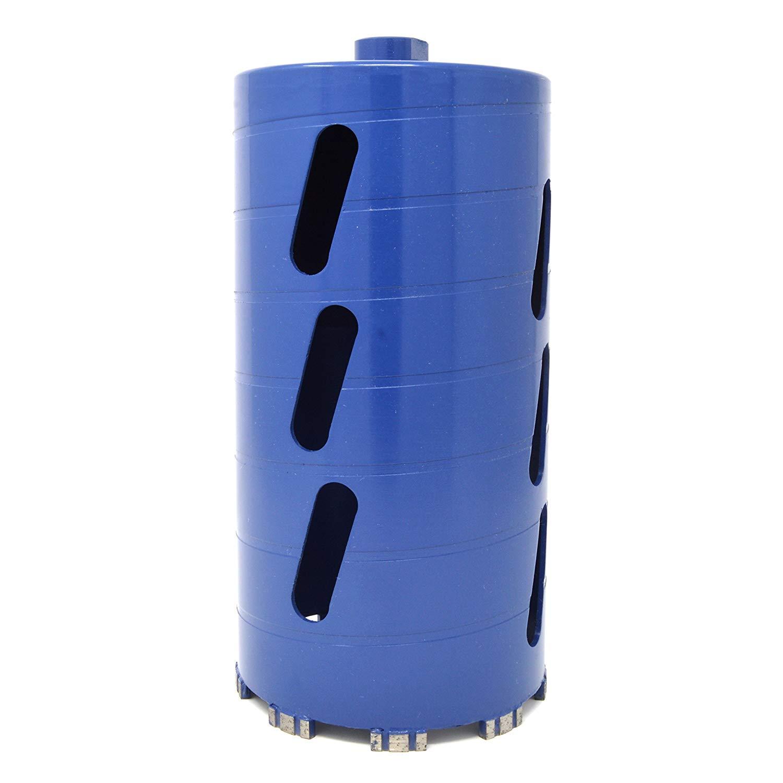 "Lackmond PRM Series Dry Masonry Drill Bit - 1-1/2"" Stone/Masonry Hole Saw with Diamond Segments for Fast Drilling & 5/8""-11 Thread Arbor - DCB112PRM"
