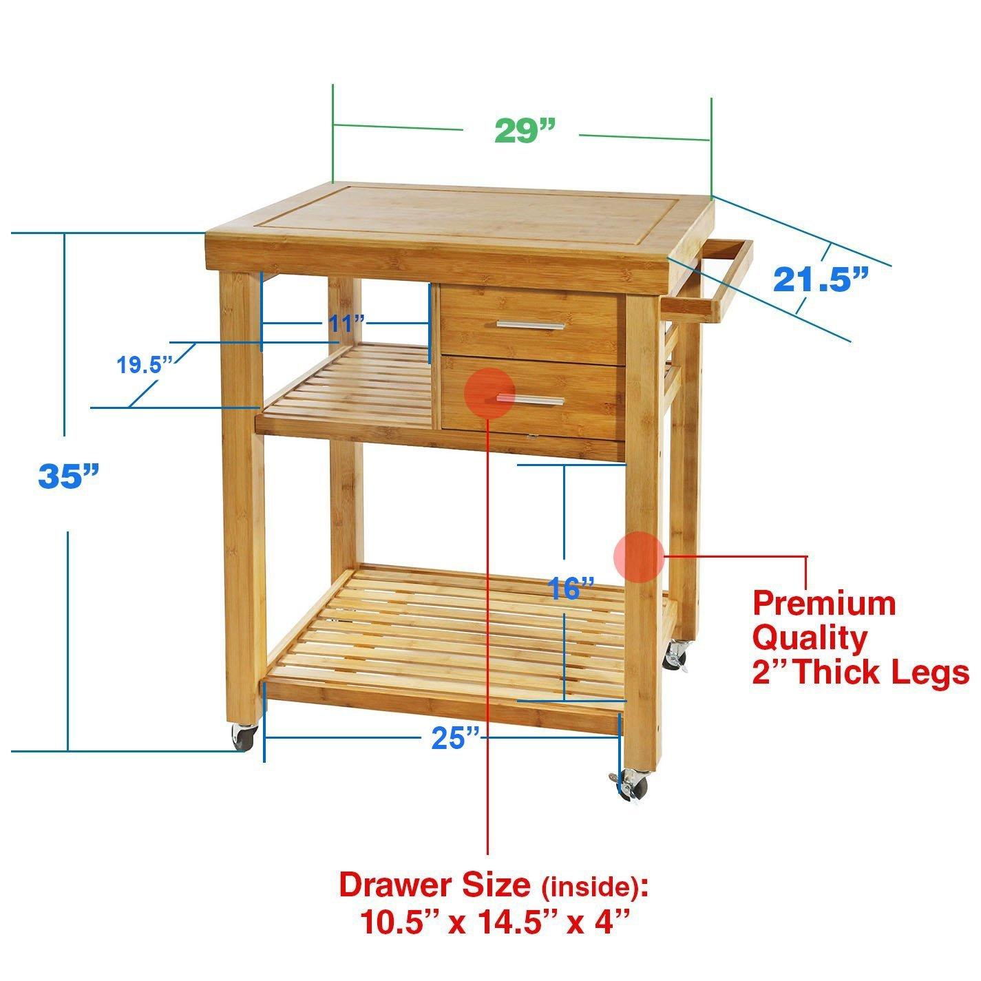 Kitchen Trolley MSL-JJ1907161 Details 5
