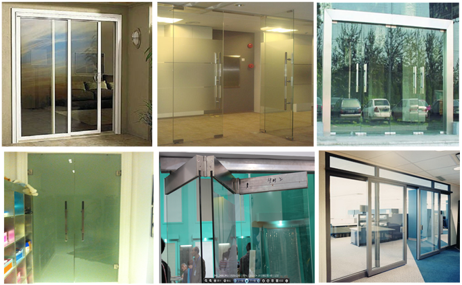 CE tempered glass sliding doors aluminium sliding doors