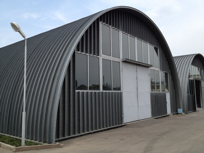 Portable Metal Roofs : Portable trailer mounted k type metal roofing roll