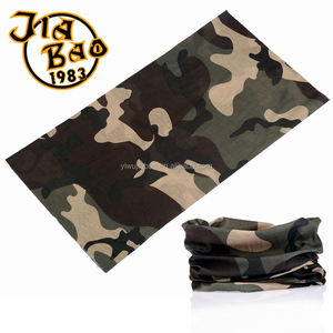 Head neck wear seamless bandana 25*50cm military neck warmer