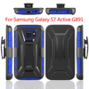 Hot Sales Holster Combo Belt Clip Case For samsung galaxy s7 Active G891 T model Armor New Design