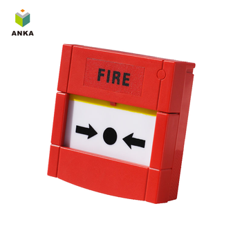 AJ-MC12R fire alarm emergency button manual call point