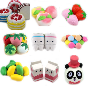 Taobao lovely ball soft cake/bread/fruit/emoji squishy bun, toy hanger squishy toys key chains