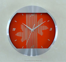 12inch round metal wall decor clock