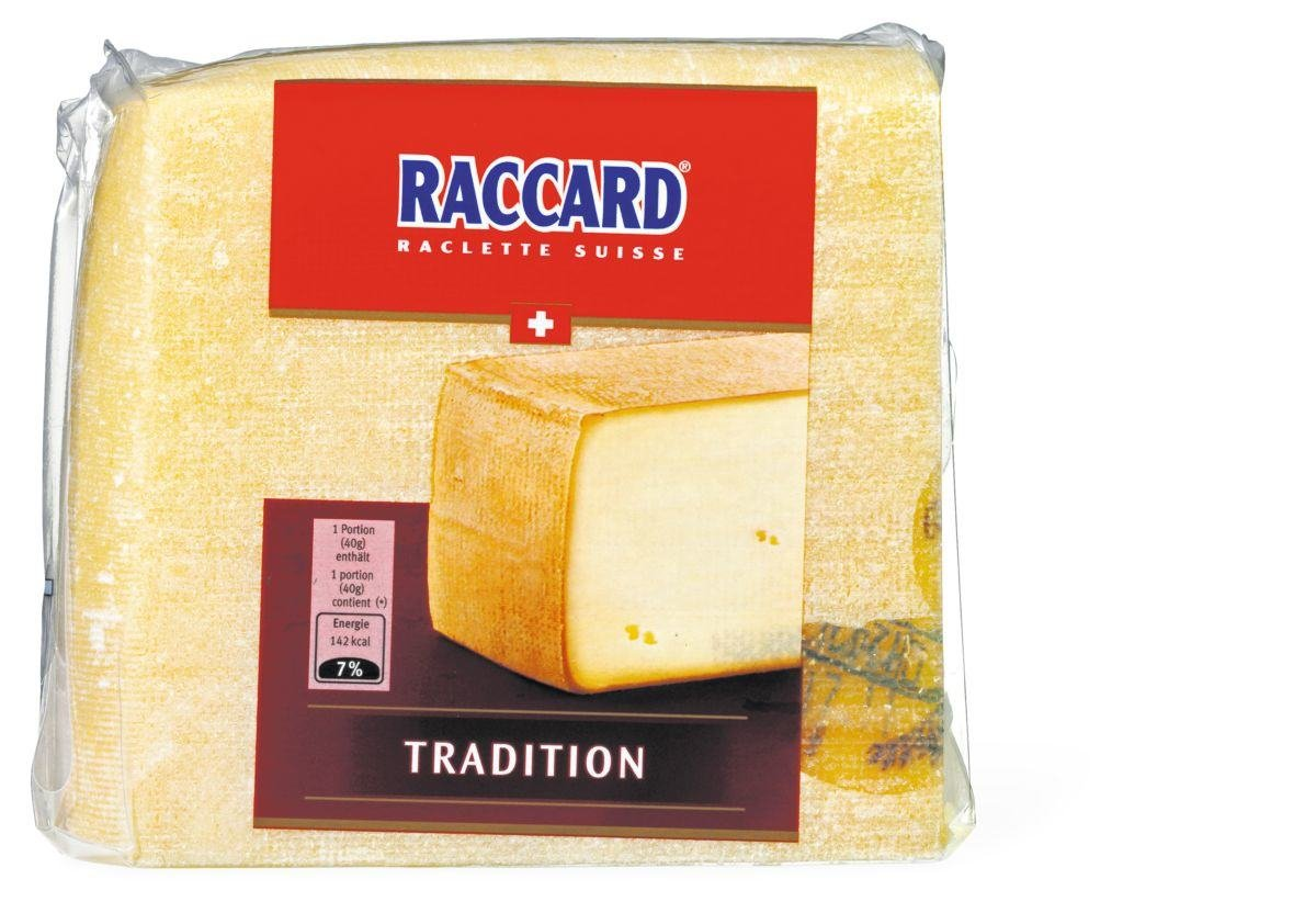 Raccard Swiss Raclette - Square, Great for Slicing (Small Rectangle (1 Pound))