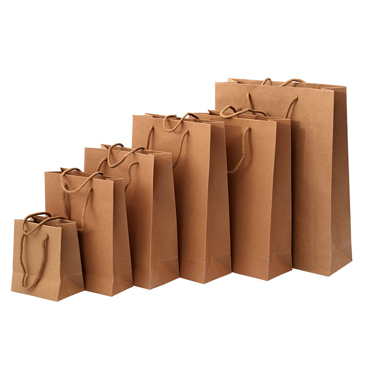 Chine fabricant kraft papier brun sac alimentaire