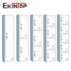 Ekintop tall thin single door narrow metal mobile equipment office storage cabinet