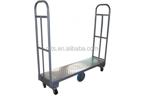 Display steel rolling cart