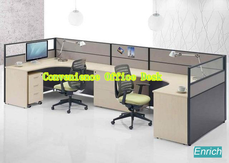 high quality half round office desk circular office furniture