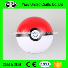 Factory direct cheap promotional pokemon go stress ball
