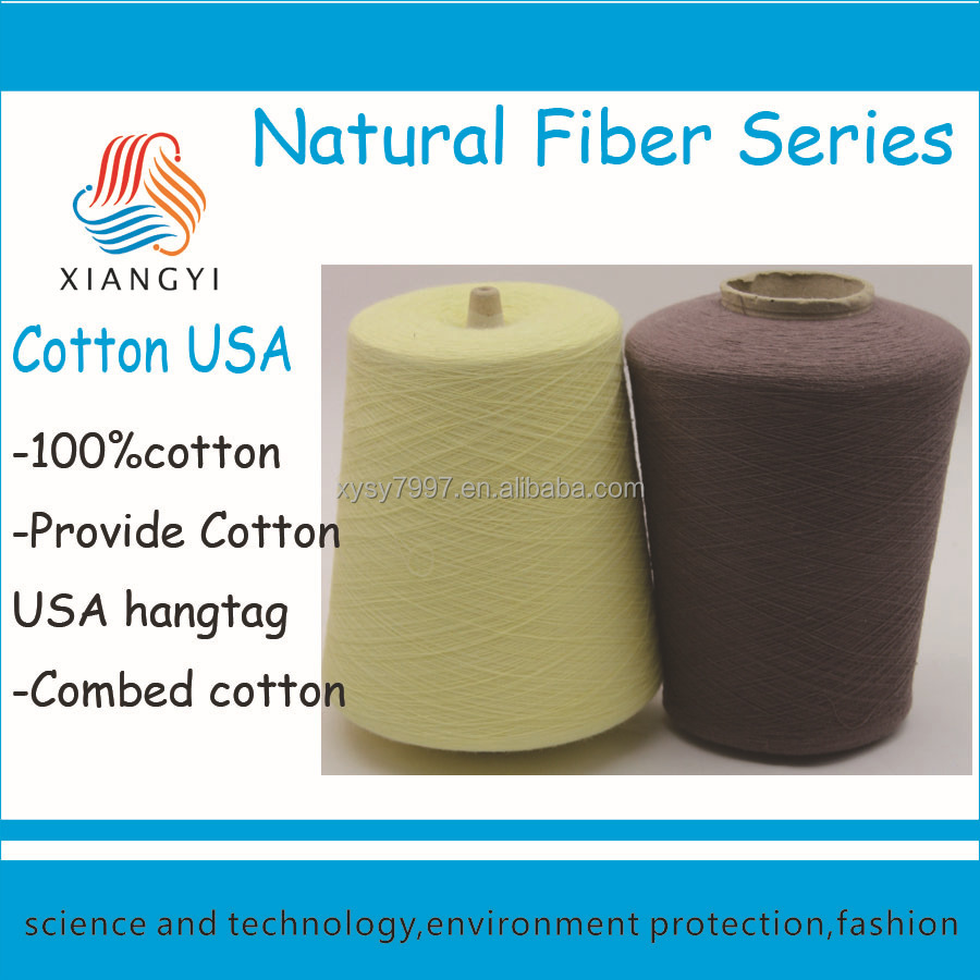 ne 40/1 100% combed USA cotton ring spun yarn