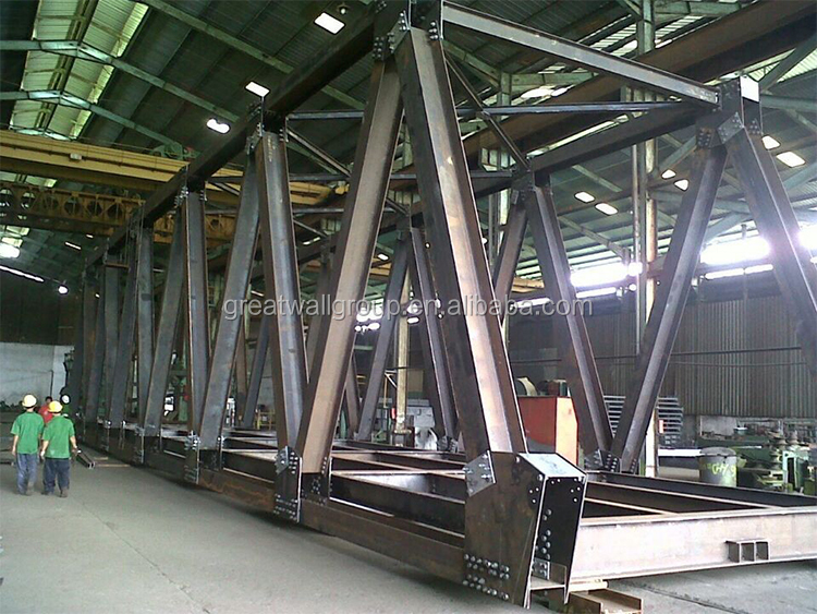 High Quality multiple types portable steel structure Bridge for sale