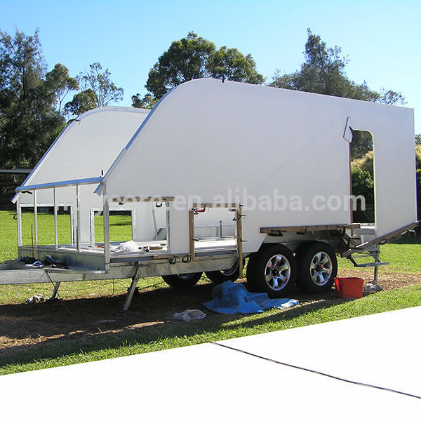 Enclosed Glass Trailer