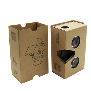 High Quality 3D Cardboard Glasses virtual Reality VR Google 3D Glasses