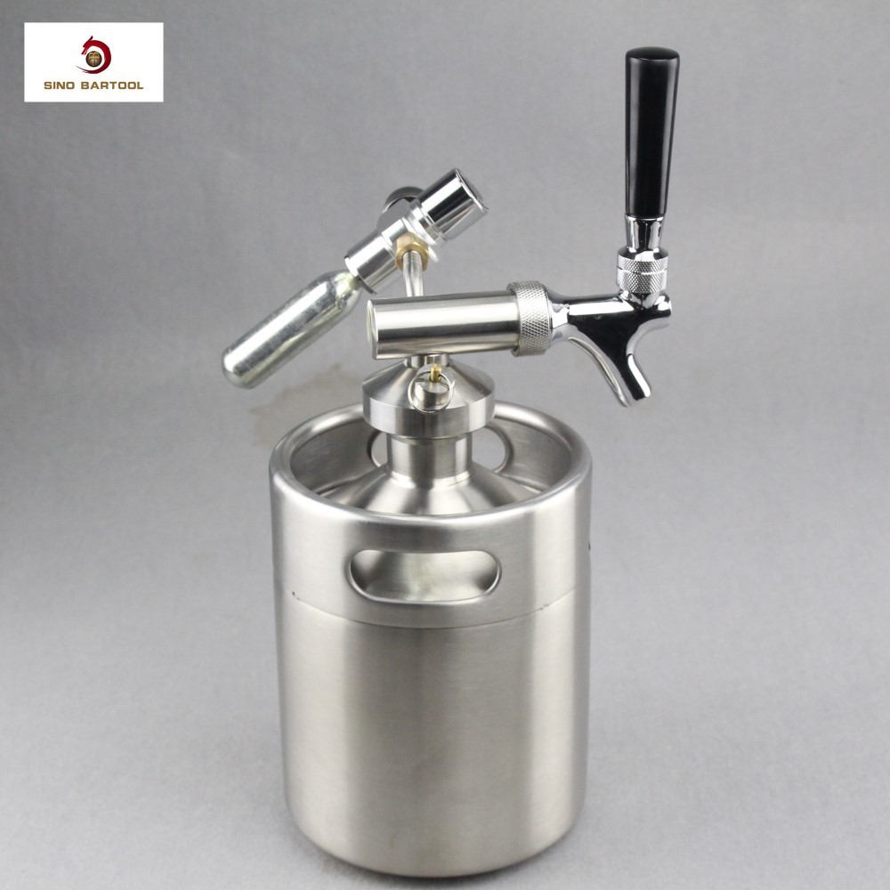 Beer Growler Tap Twist Spear With Faucet For Picnic Beer - Buy Tap ...