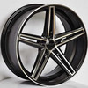 five spokes car alloy wheels new style car rims
