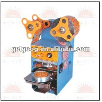 Automatic Sealing Plastic Cup Machine|cup sealer