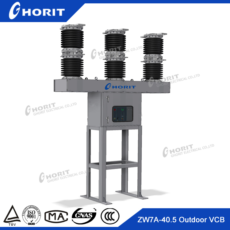 Outdoor Hv Vacuum Circuit Breaker 33kv 1250a Vcb Not Include The Ct