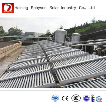 2015 Non Pressurized Evacuated Tube Solar Water Heater For