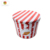 2 Gallon Tin Popcorn Box with Lid