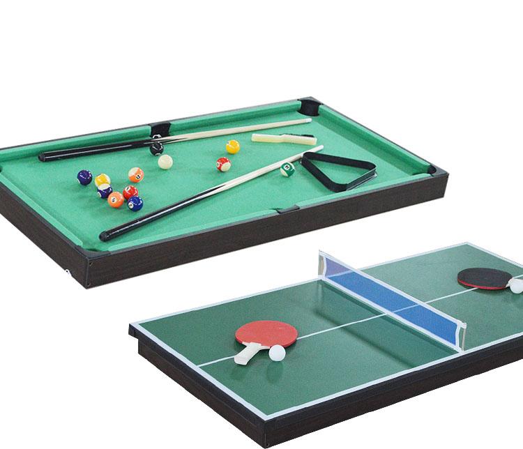 47 pollice 4 in 1 pieghevole multi gioco da tavolo biliardo tennis da tavolo air hockey - Tavolo da biliardo pieghevole ...