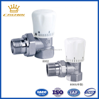 Brass ppr angle thermostatic valve 3 way angel valve