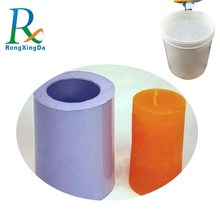 Widely used silicone rubber candle mold making two component rtv2 liquid silicone rubber