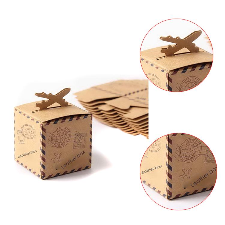 Custom Mini Suitcase House Shaped Gift Box Kraft Gift Box With Handle Buy Mini Suitcase Gift Boxgift Box With Handlehouse Shape Gift Box Product