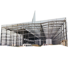 Warehouse Garage Easy Assemble Low Cost Metal Construction Prefab Steel Structure Warehouse