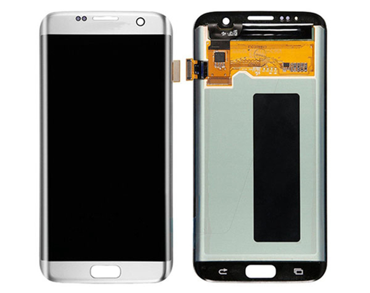 12 Months Warranty Stock For samsung galaxy s7 edge lcd screen