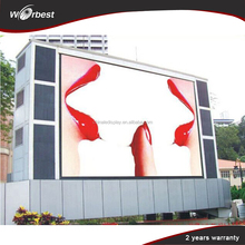 Good price led electronic display outdoor p10 led advertising electronic display