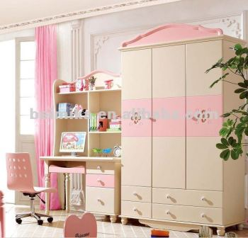 New Design Of Kids Bedroom Wardrobe Set Buy
