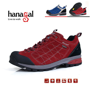 New Suede Upper Outdoor Waterproof and Breathable Mens Trekking Shoes for Venture