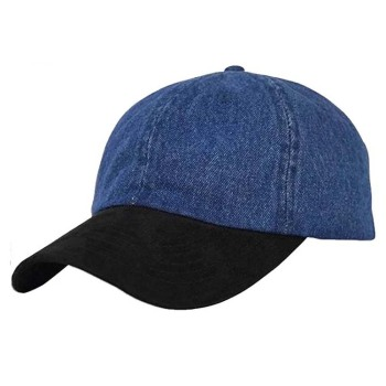 Wholesale frayed washed baseball caps plain distressed denim baseball cap 5bfec9c3ae2