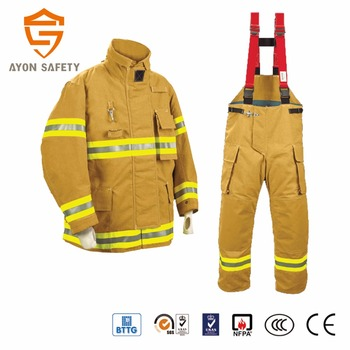 b0e1dce09abb Aramid clothing fire retardant firefighter rescue uniform military fabric  aramid PTFE fire suit Aramid fireman suit