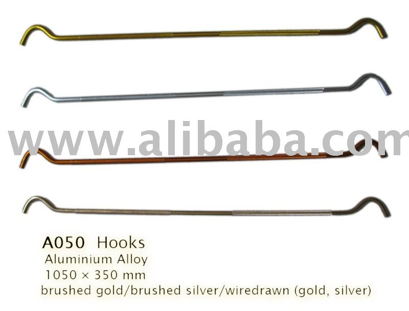 Hook for trouser display