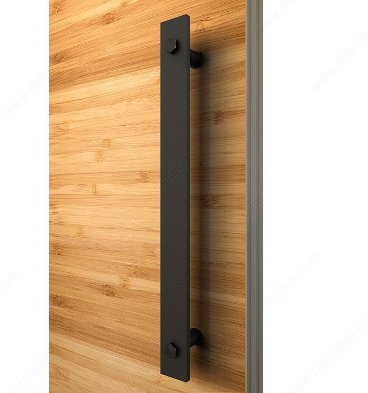 2019 Rustic Black Barn Door Handle And Pull Wood Door Flat Bar To