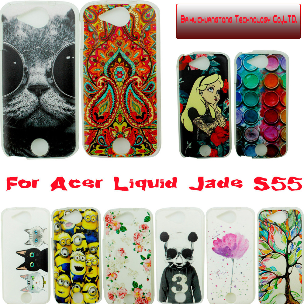 quality design 70bab 8383c Taken @ Animal Soft tpu Cover Cases for Acer Liquid Jade Back Cover . Case  For Acer Liquid Jade S55