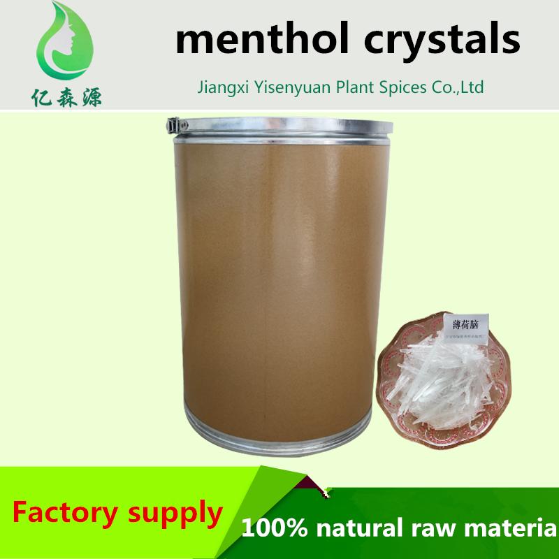 Bersertifikat Casno 89 78 1 Mentol Kristal Sintetis Dan Alami Bahan